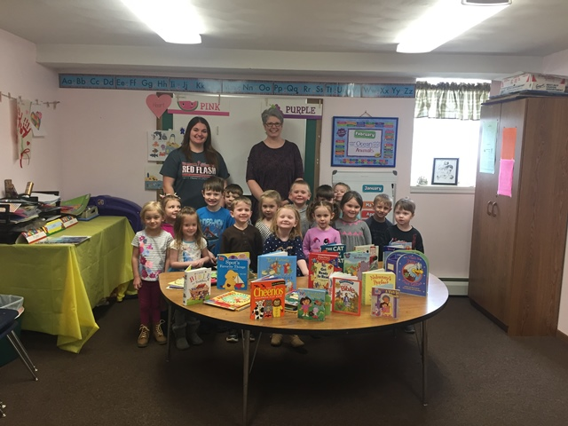 Clearfield United Way Delivers Books to Local Pre-School
