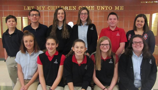DCC Sends 10 Students to PJAS Competition in Altoona