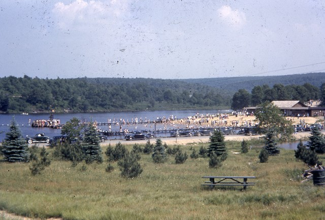 Throwback Thursday: Rare 1941 Color Photo of Parker Dam