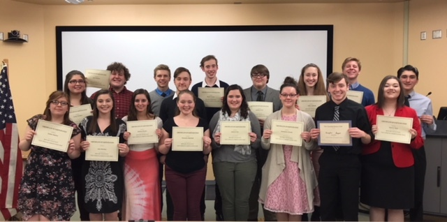 Lock Haven Hosts Clearfield Rotary Four-Way Speech Contest