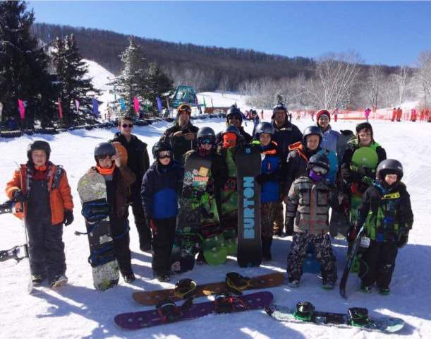 Troop 9 Scouts Take Part in Ski/Snowboard Program at Holiday Valley