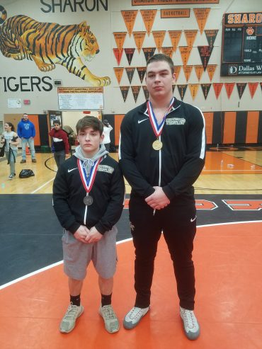 Curwensville's McClure Places Fourth, Passarelli Is Eighth at PIAA Class AA Wrestling Championships