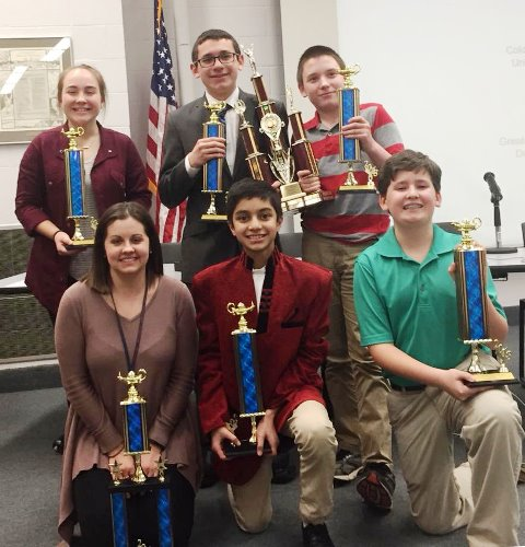 DCC Middle School Earns First Place at 21st Annual Junior Scholastic Challenge