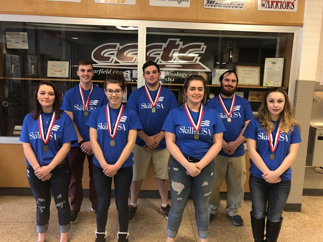 CCCTC Students Compete at SkillsUSA District Competition