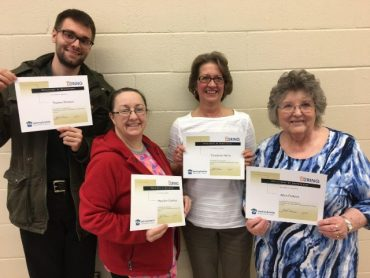 Staff Members at CCAAA Receive Training on Healthy Steps
