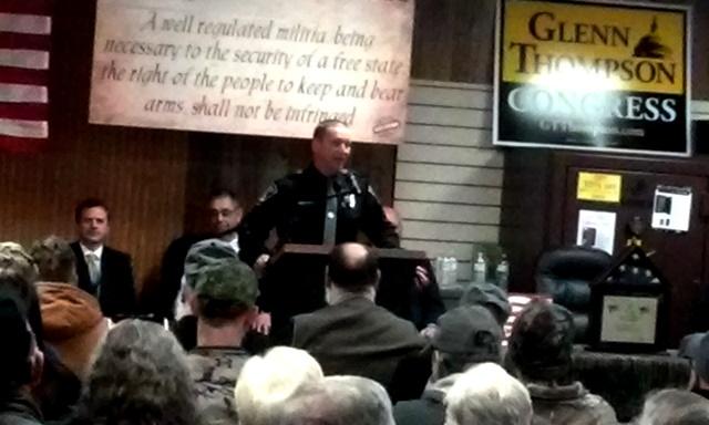 Local Gun Shop Holds Second Amendment Rally