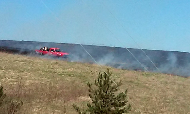 Eight Fire Companies Respond to Brush Fire in New Millport Area