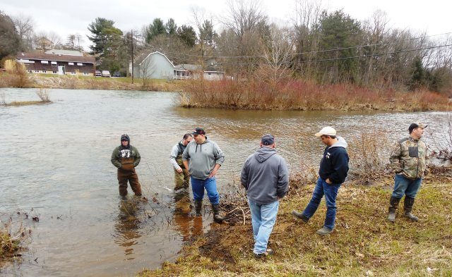 Student Athletes Participate in Trout Stocking