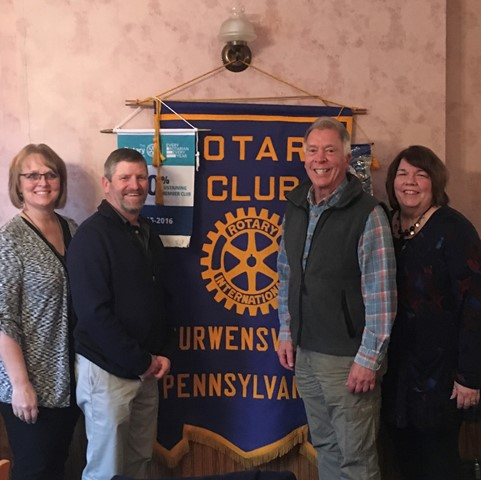 New Golf Course Owners Speak to Curwensville Rotary