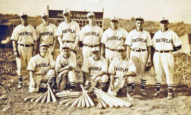 Throwback Thursday: 1936 Grassflat Baseball Team
