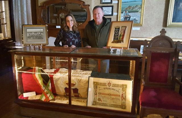 Kerr House Museum to Feature Italian Lodge Display