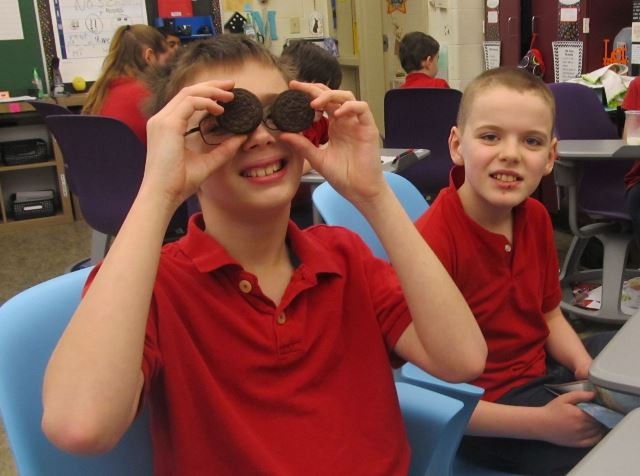 DCC Fourth and Fifth Graders Enjoy OREO Party