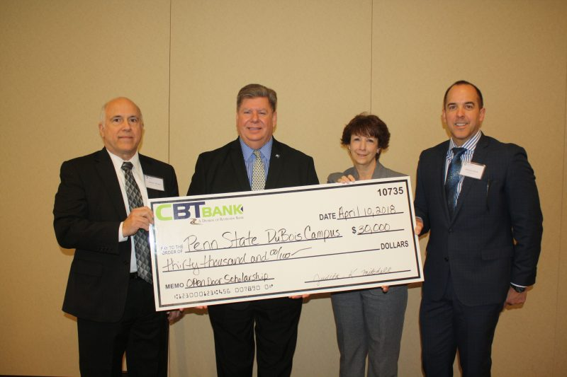 CBT Bank Pledges $30,000 for Open Doors Scholarship