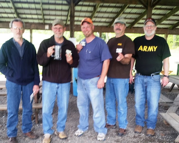 Sportsmen's Club Holds Deer Target Match