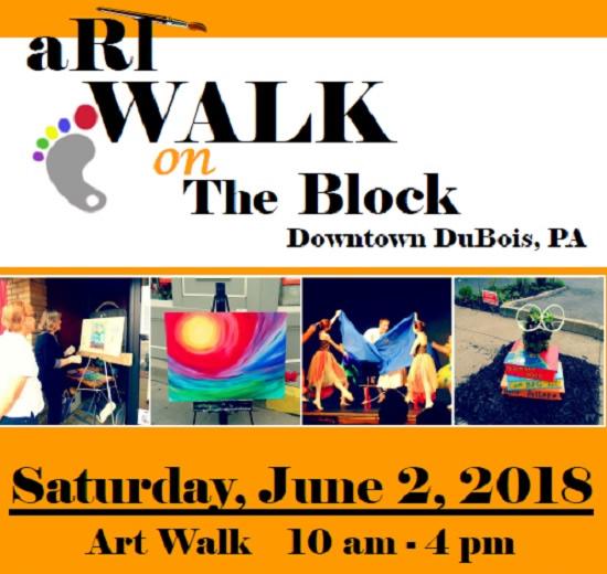 Art Walk on the Block is June 2 in Downtown DuBois