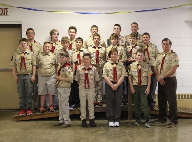 Six Scouts Earn Arrow of Light Award