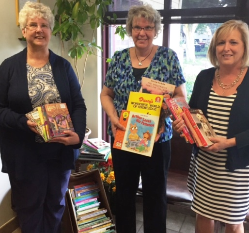 Clearfield Area United Way Delivers Books to Housing Authority