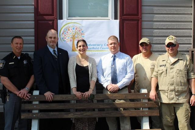 Quehanna Boot Camp Donates Bench