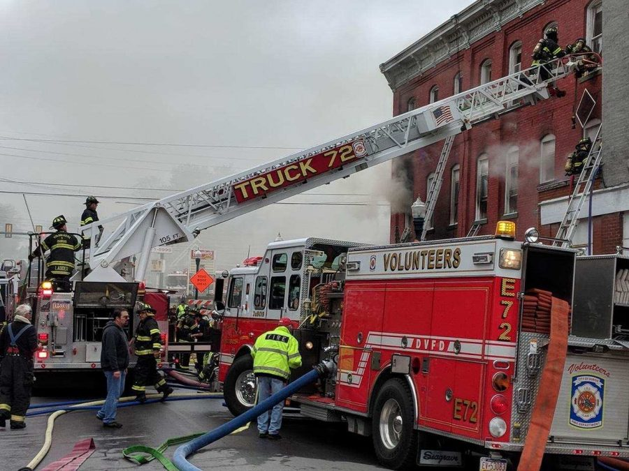 UPDATE: Residents Safely Escape Early Morning Fire in DuBois