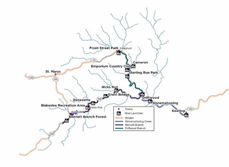 New Sinnemahoning Water Trail Announced