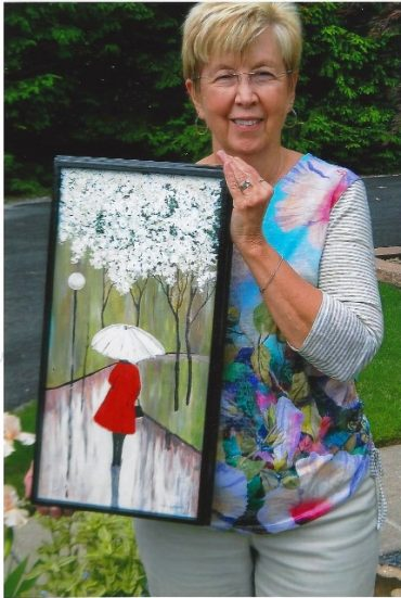 Schultz Wins People's Choice Award for Painting