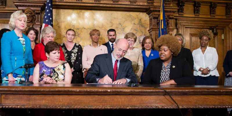 Governor Wolf Takes Action on Equal Pay for Women
