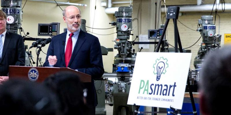 Following Budget Passage, Gov. Wolf Launches PAsmart with New Investments in Job and Skills Training