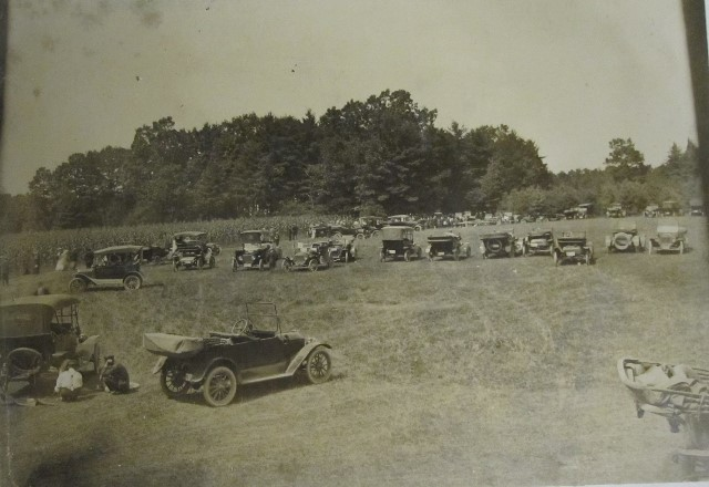Throwback Thursday: 1920's Photo of Frenchville Picnic