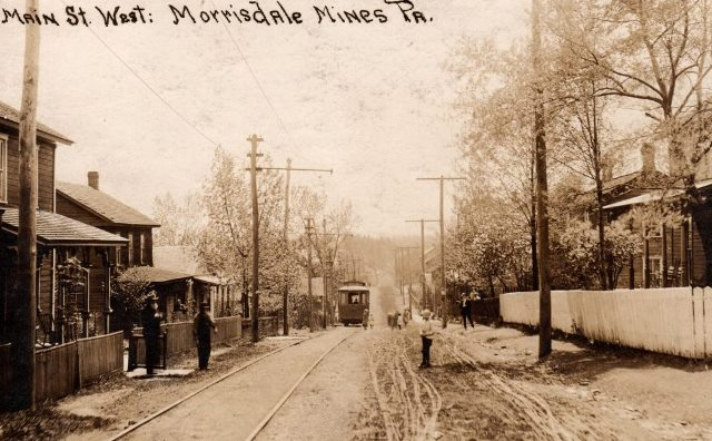 Throwback Thursday: Morris Township Trolley