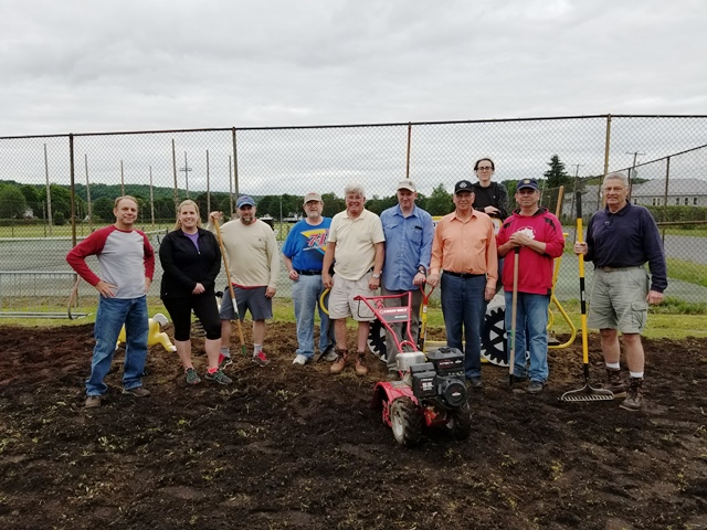 Eagle Scout Project Nears Completion for Clearfield Rotary