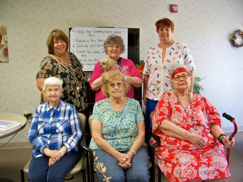 Leonard Court Residents Complete Chronic Pain Management Class