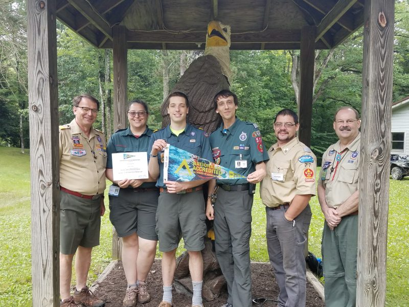 Bucktail Council's Camp Mountain Run Accredited