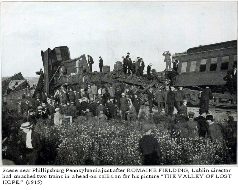 Throwback Thursday: 1914 Alley Popper Train Wreck