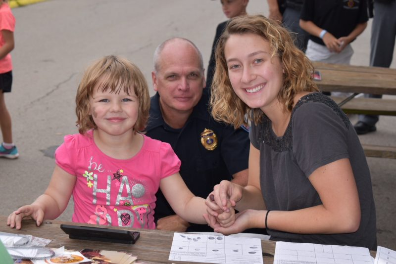 PHOTO: Local Police Fingerprint Over 200 Children During Kid's Day at Clearfield Fair