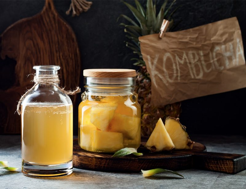 The Medical Minute: Kombucha Offers a Natural Way to Testore Body's Microbiome