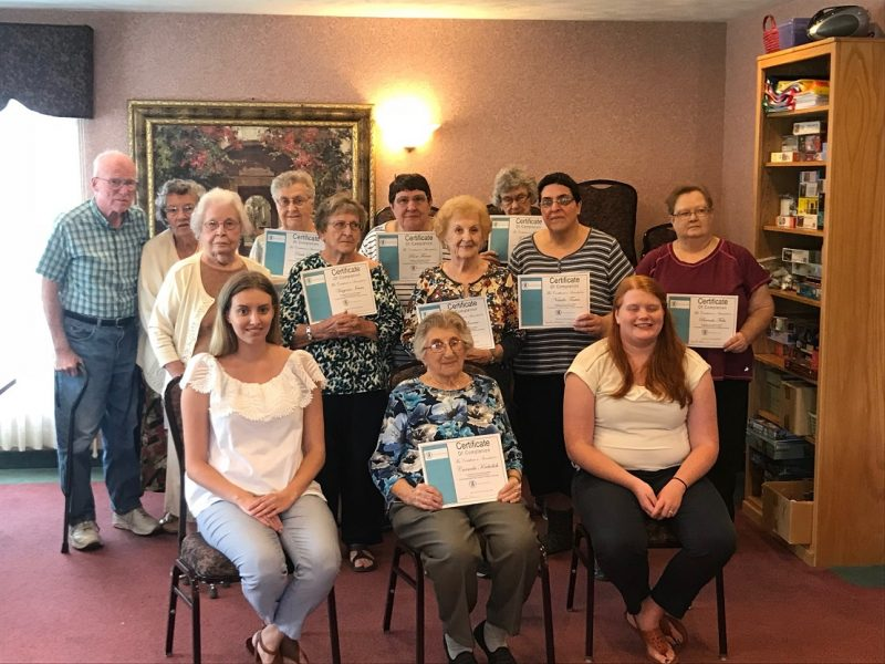 Graystone Court Residents Complete Relationship Education Program