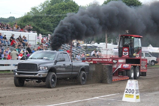 PHOTO SLIDESHOW: Clearfield Fair's Truck & Tractor Pulls