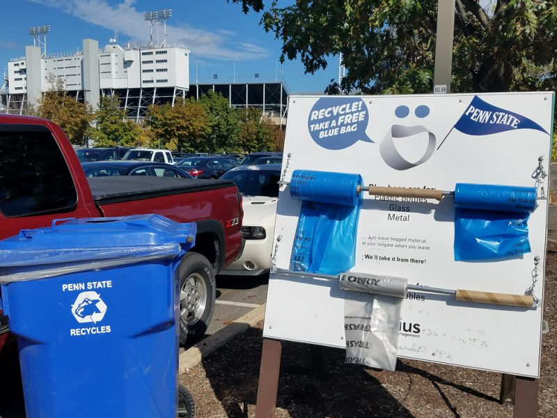 Football Fans Encouraged to Participate in Game Day Recycling Efforts