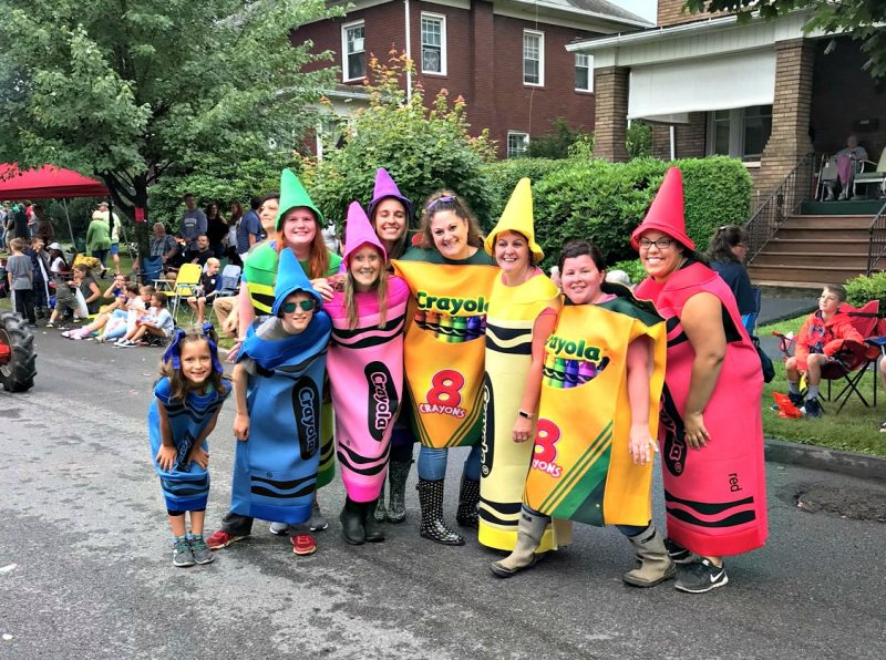 Children's Aid Society Wins Best of Show at Clearfield Fair Parade