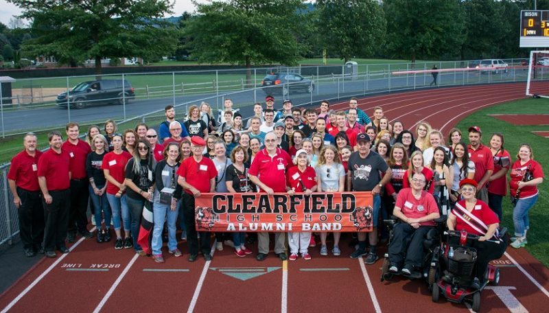 Clearfield Music Hosts 2018 Alumni Band