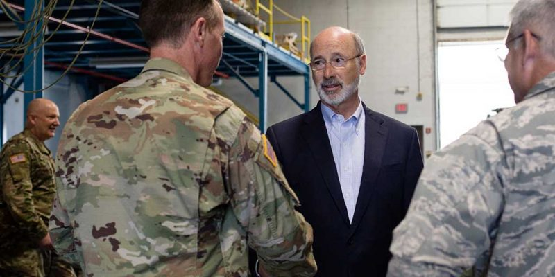 Wolf Announces Deployment of National Guard, Fish and Boat Personnel, Aircraft to Support Florence Response