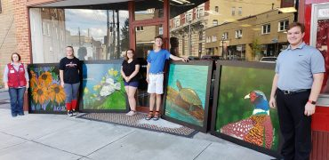 Students' Murals to be Mounted on CAST Building