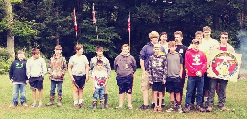 Troop 9 Receives Scouts Spirit Award