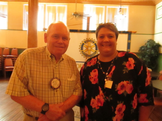 Clearfield Rotary Learns About New Program