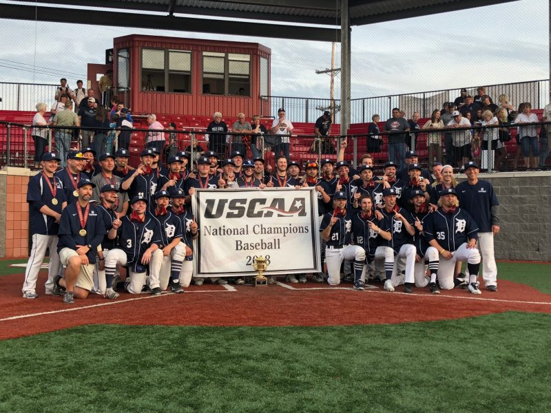 Penn State DuBois Baseball Team to be Honored at Halftime Saturday