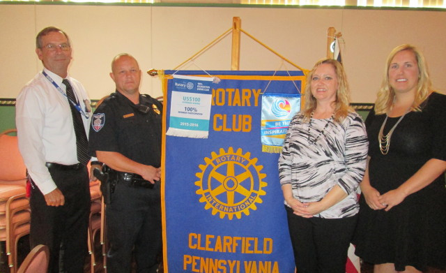Clearfield Rotary Learns About Officer Phil Program