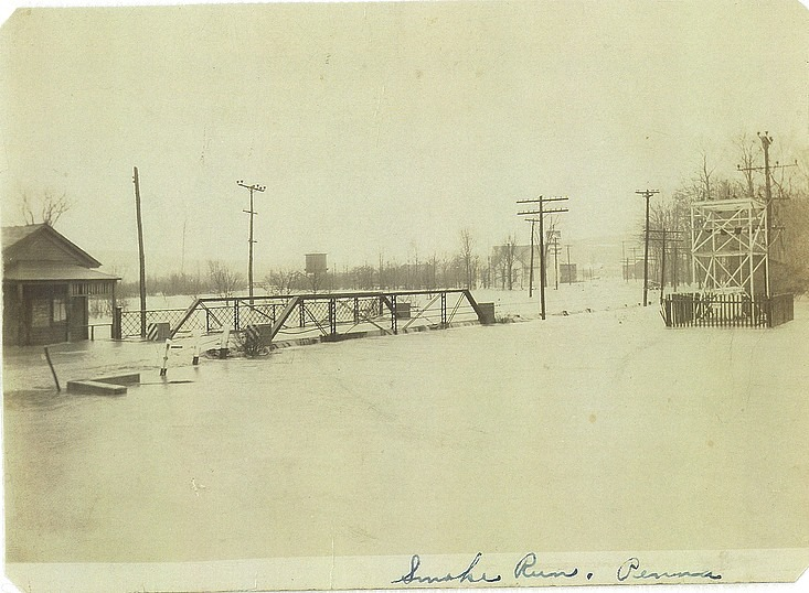 Throwback Thursday: Flooding in Smoke Run in 1936