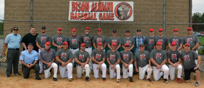 Bison Red Rallies To Win Clearfield Baseball Alumni Game