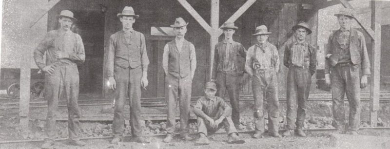 Throwback Thursday: Coalport Miners in 1902