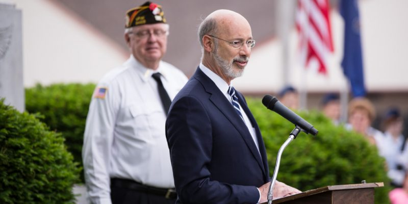 Gov. Wolf Announces Veterans' Trust Fund Grant Opportunities